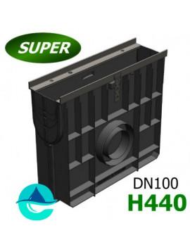 DN100 Gidrolica Super ПУ-10.16.44 пескоуловитель пластиковый