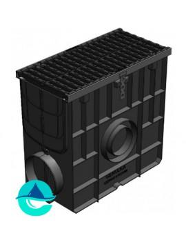 DN200 Super ПУ-20.25.47,8 пескоуловитель пластиковый с чугунной решеткой