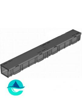Light ЛВ-10.11,5.9,5- лоток пластиковый водоотводный с пластиковой ячеистой решеткой