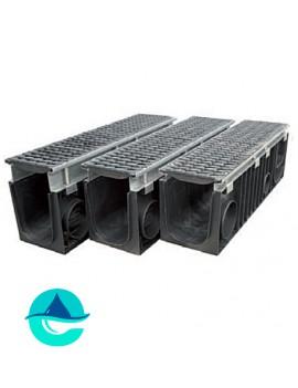 Profi Plastik DN200 лоток пластиковый водоотводный усиленный с надстройкой