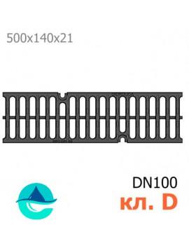 РВ-10.14.50 Gidrolica Super чугунная решетка ливневая кл. D400