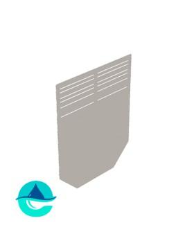 Заглушка 260 мм для бетонных лотков DN200